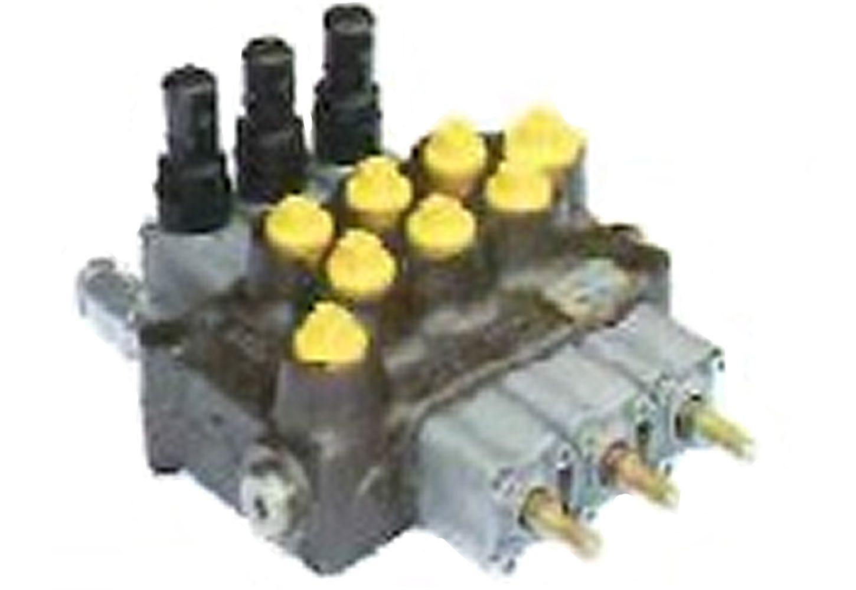 油圧マルチバルブ3連